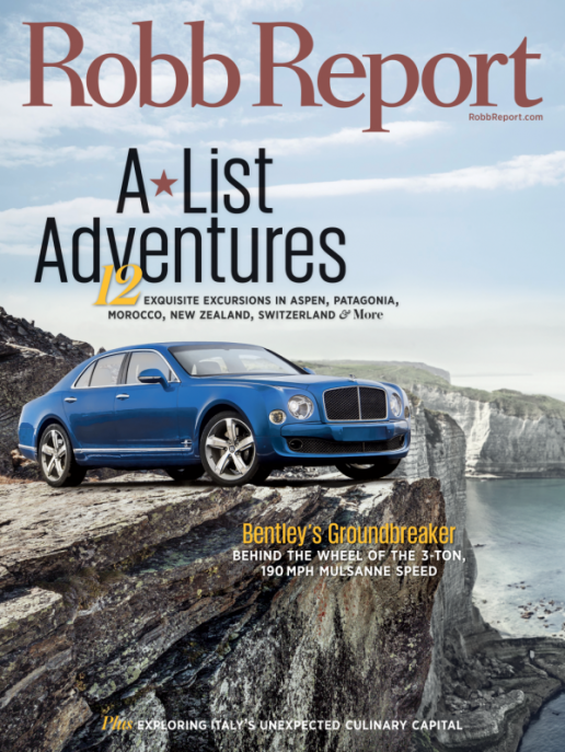 robb report luxury magazine