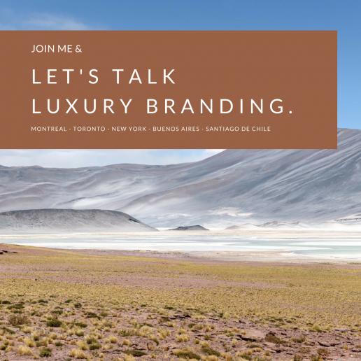 Let's talk luxury branding