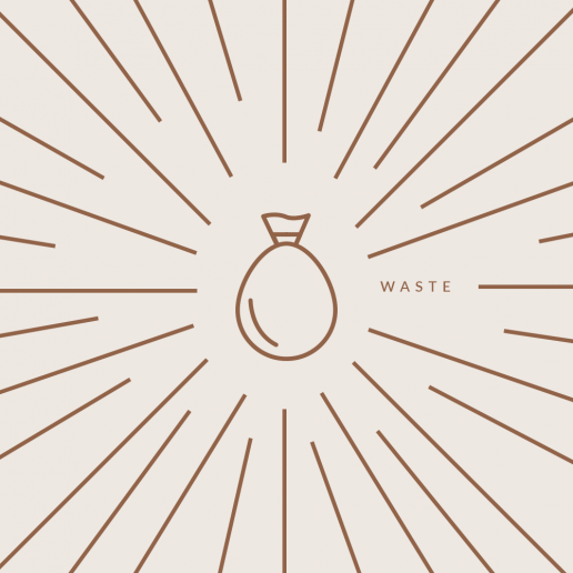 Roxy Génier - Luxury Anti-Values - Waste - Social Media Banner