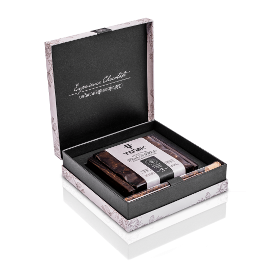To'ak Chocolatier - Luxury Dark Chocolate from Ecuador - Vintage 2015 Kampot Pepper -1